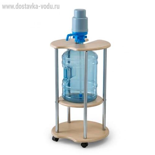 подставка на колесиках для воды 19 литров
