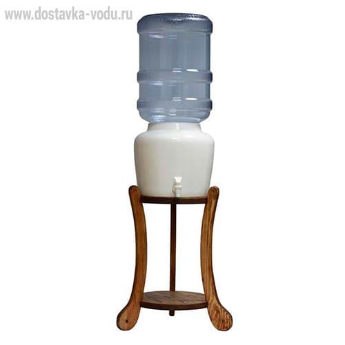Подставка с краном для бутыли 19 литров